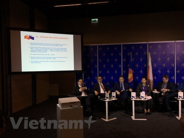 EVFTA provides push for Vietnam-EU economic relations - ảnh 1
