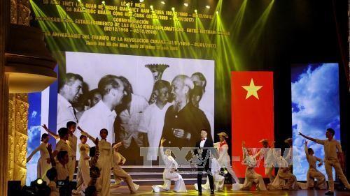 Conmemoran en Ciudad Ho Chi Minh aniversario del triunfo de la Revolución cubana - ảnh 1