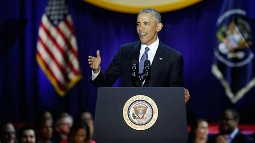 Barack Obama se despidió de su presidencia con la confianza en el futuro de Estados Unidos - ảnh 1