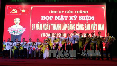 Siguen actividades por los 87 años del Partido Comunista en Vietnam - ảnh 1