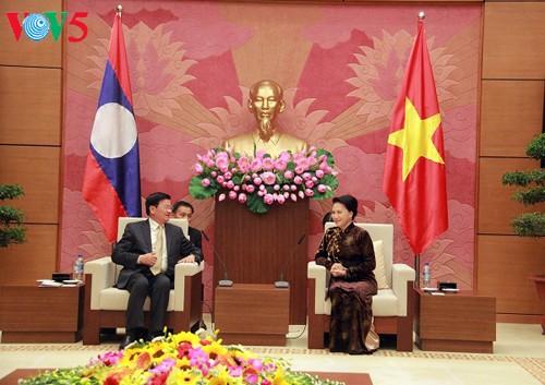 Vietnam y Laos consolidan cooperación parlamentaria - ảnh 1