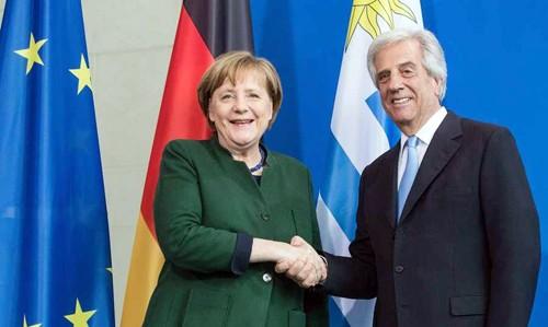 Uruguay y Alemania fortalecen negociación del Tratado de Libre Comercio Mercosur-Unión Europea - ảnh 1