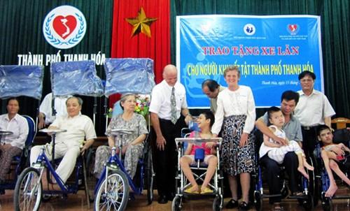 Esfuerzos comunes para integrar a los discapacitados a la sociedad vietnamita - ảnh 1