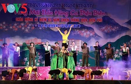 Localidad norteña conmemora aniversario 63 de la victoria de Dien Bien Phu - ảnh 1