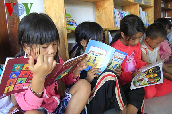 Biblioteca de amor para niños necesitados - ảnh 2