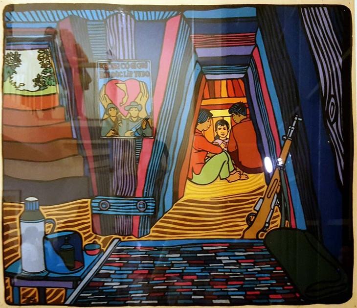 Pintor cubano René Mederos y su amor por Vietnam - ảnh 3