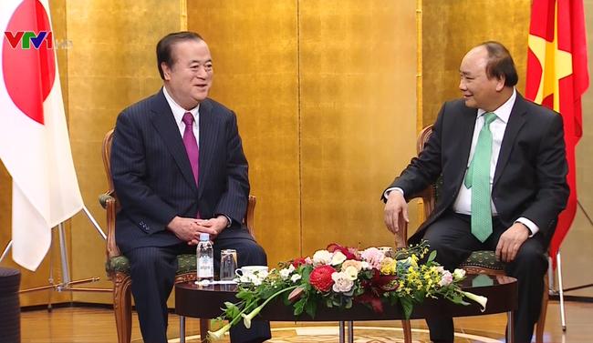 Primer ministro de Vietnam cumple agenda de trabajo en Japón - ảnh 1
