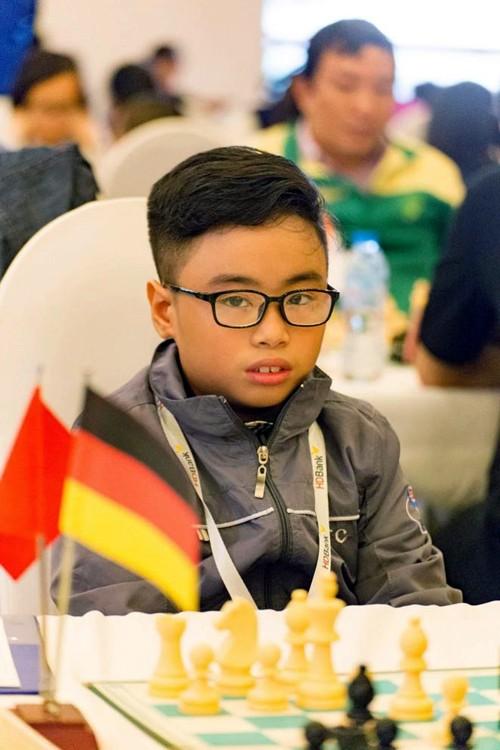 Vietnam gana una medalla de oro en el Campeonato mundial juvenil de ajedrez 2017 - ảnh 1