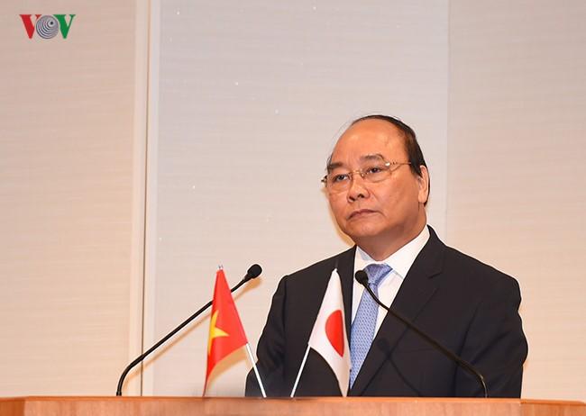 Primer ministro de Vietnam concluye exitosamente su visita a Japón - ảnh 1