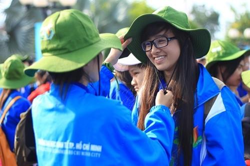 Jóvenes de la región sureña dedican esfuerzos voluntarios en el verano 2017 - ảnh 1