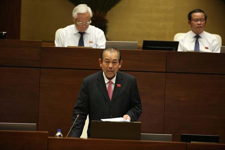 Parlamento vietnamita termina interpelaciones a altos dirigentes del gobierno - ảnh 1