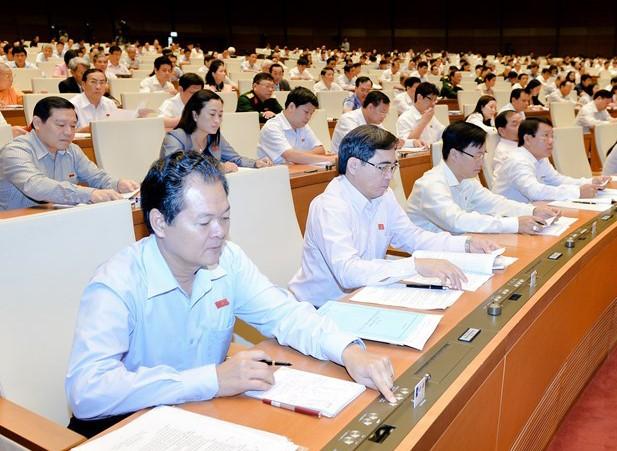 Democracia, actitud positiva y responsabilidad resaltan en interpelaciones parlamentarias de Vietnam - ảnh 1