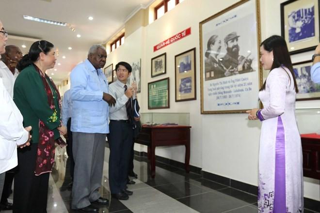 Delegación parlamentaria de Cuba visita provincia sureña de Vietnam - ảnh 1
