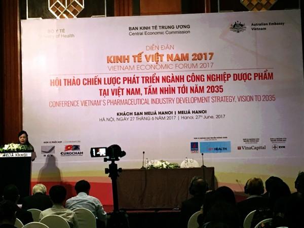 Vietnam impulsa el desarrollo del sector farmacéutico hasta 2035 - ảnh 1