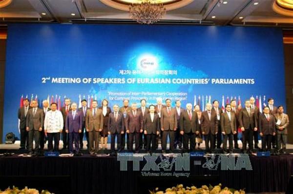 Vietnam fortalece los lazos de cooperación con los países euroasiáticos - ảnh 1