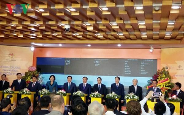 Vietnam determinado a diversificar el mercado bursátil - ảnh 1