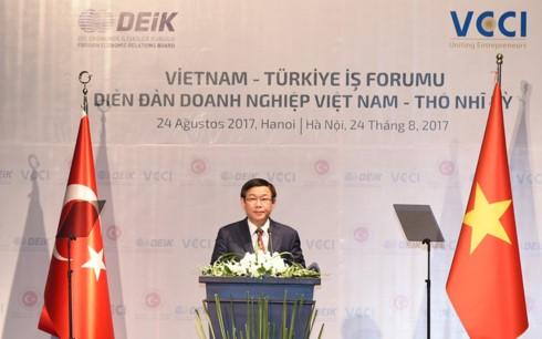 Vietnam y Turquía promueven la cooperación empresarial - ảnh 1