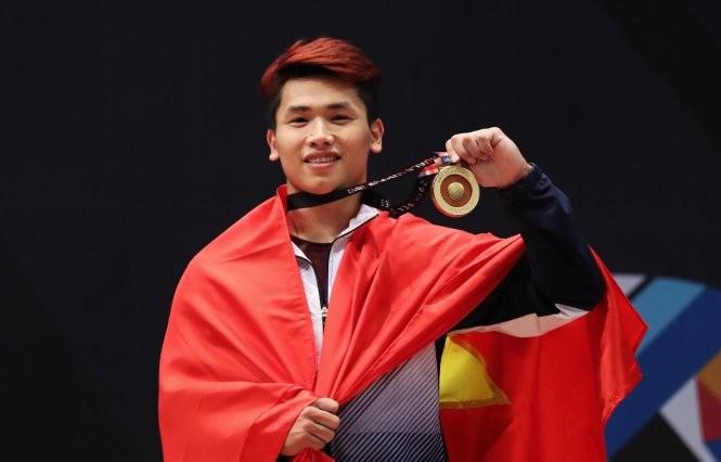 Otra medalla de oro para la halterofilia de Vietnam en los XXIX Juegos del Sudeste Asiático - ảnh 1