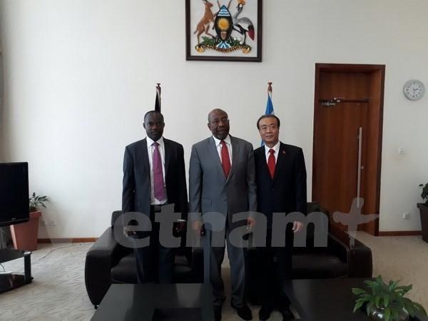 Vietnam y Uganda buscan fortalecer las relaciones de cooperación multisectorial - ảnh 1