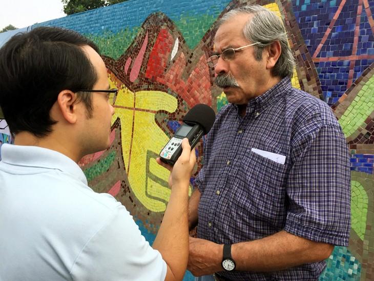 Chile incorpora una pintura al Mural Mosaico Cerámico de Hanoi en su Día Nacional - ảnh 5