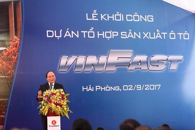 Vietnam comienza a materializar el sueño de fabricar automóviles nacionales - ảnh 1