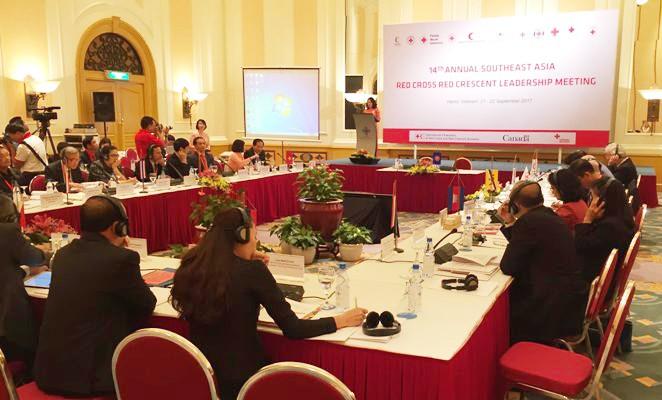 La Cruz Roja de los países de la Asean incrementan la cooperación humanitaria - ảnh 1