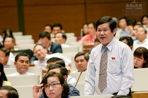 El desarrollo socioeconómico de Vietnam centra la agenda de la reunión parlamentaria - ảnh 1