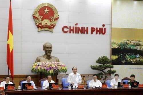 Gobierno de Vietnam continúa la agenda de trabajo de la reunión ordinaria de octubre - ảnh 1