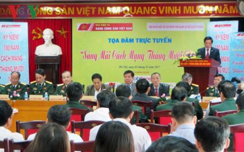 Siguen actividades conmemorativas del centenario de la Revolución de Octubre de Rusia en Vietnam - ảnh 1