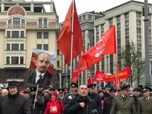El mundo sigue con actividades conmemorativas del centenario de la Revolución de Octubre - ảnh 1