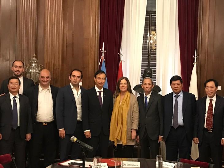 Hanoi busca impulsar la cooperación con Brasil, Argentina y Chile - ảnh 1