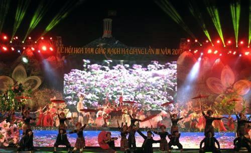 Inauguran el Festival de Flores de Alforfón 2017 en Dong Van - ảnh 1
