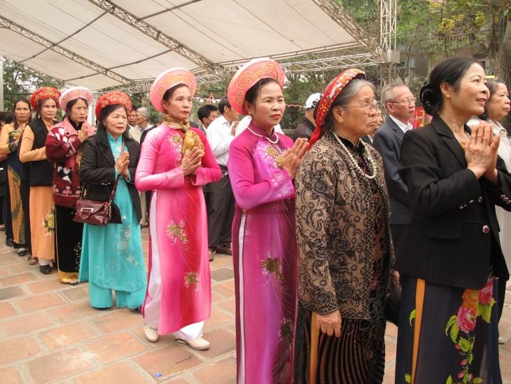 Độc đáo lễ hội đền Đồng Nhân - ảnh 2