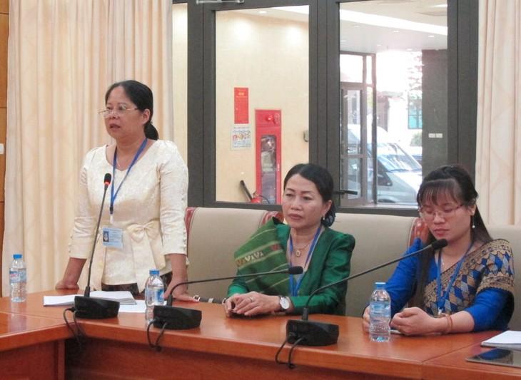 Đoàn thanh thiếu nhi kiều bào Lào về thăm Việt Nam - ảnh 3