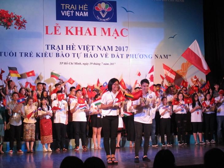 Lễ khai mạc  chính thức Trại hè Việt Nam 2017 - ảnh 1