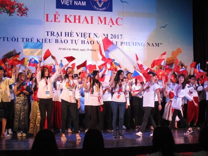 Lễ khai mạc  chính thức Trại hè Việt Nam 2017 - ảnh 4