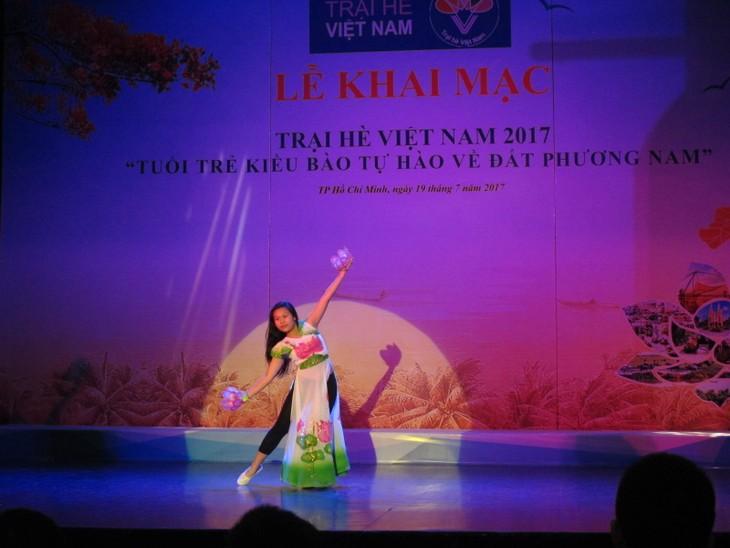 Lễ khai mạc  chính thức Trại hè Việt Nam 2017 - ảnh 5