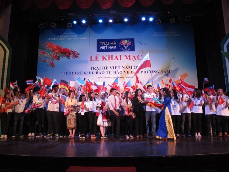 Lễ khai mạc  chính thức Trại hè Việt Nam 2017 - ảnh 6