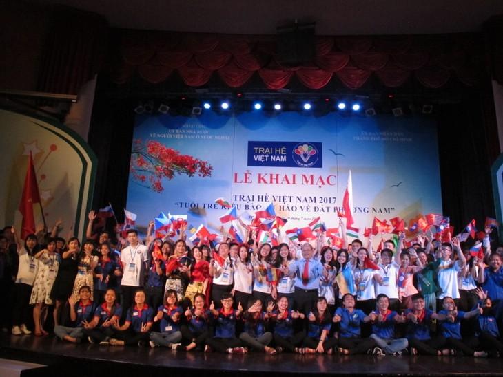 Lễ khai mạc  chính thức Trại hè Việt Nam 2017 - ảnh 7