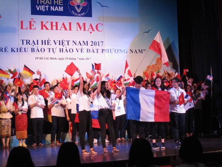 Những hình ảnh đẹp của Trại hè Việt Nam 2017 - ảnh 2
