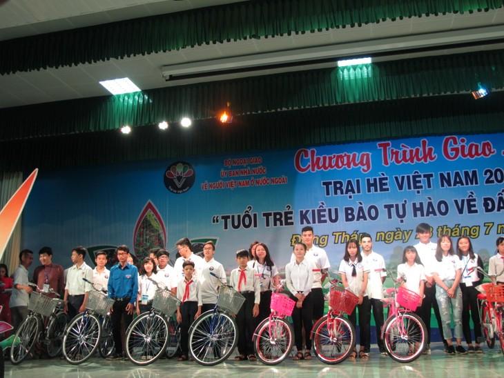 Những hình ảnh đẹp của Trại hè Việt Nam 2017 - ảnh 34