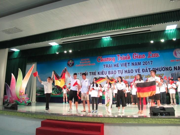 Những hình ảnh đẹp của Trại hè Việt Nam 2017 - ảnh 35