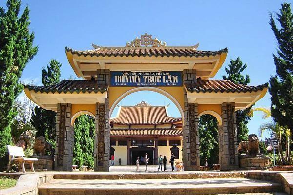 Phút tĩnh tại ở Thiền viện Trúc Lâm Đà Lạt - ảnh 1