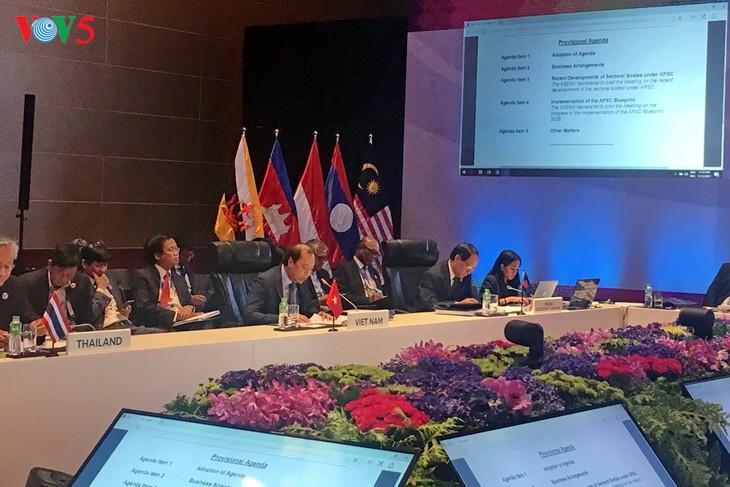 Réunion ministérielle préparatoire au 31ème sommet de l'ASEAN - ảnh 1