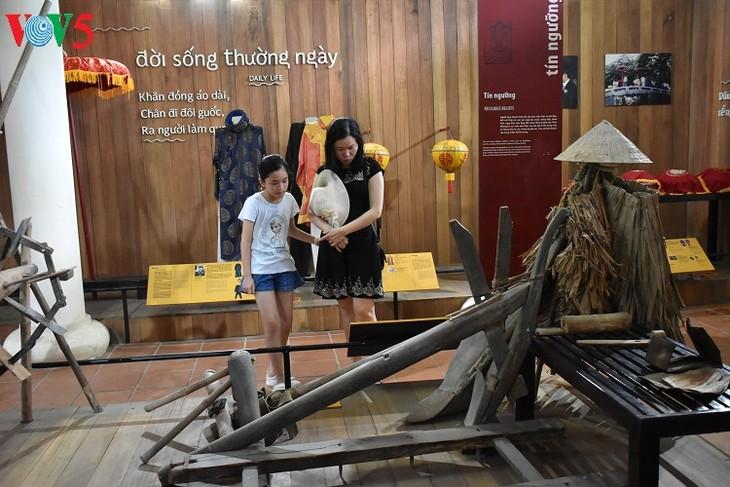 Huê: À la découverte du musée des outils agraires de Thanh Toàn - ảnh 10