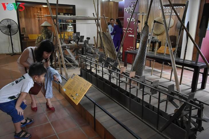 Huê: À la découverte du musée des outils agraires de Thanh Toàn - ảnh 3