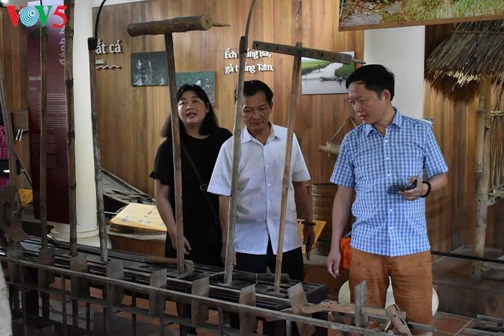 Huê: À la découverte du musée des outils agraires de Thanh Toàn - ảnh 4