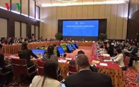 Segunda Reunión de Altos Funcionarios de APEC entra en el día de trabajo final - ảnh 1