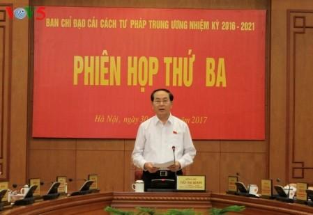 Vietnam insiste en la importancia de la reforma judicial - ảnh 1