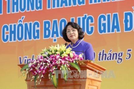 Promueven en Vietnam campaña contra la violencia doméstica. - ảnh 1